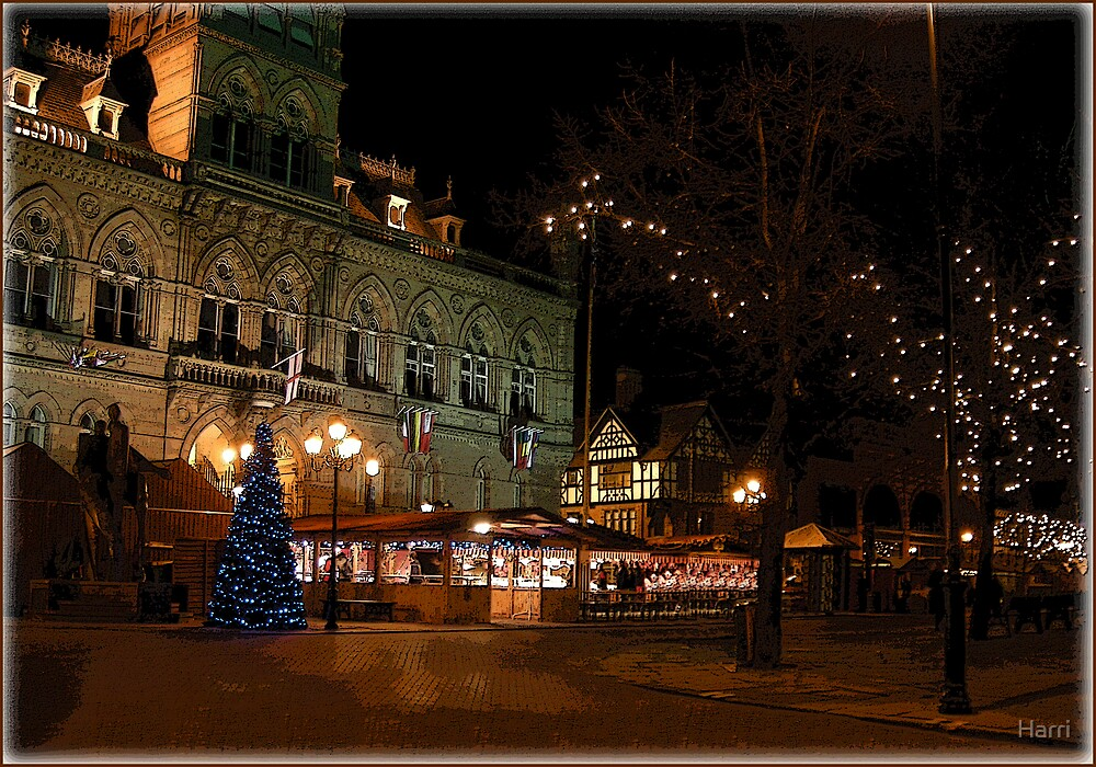 Chester's German Market by Harri