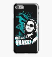 Call me SNAKE! iPhone Case/Skin