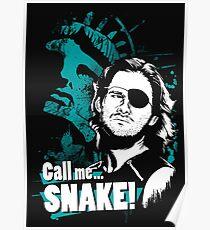 Call me SNAKE! Poster