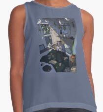 Modern Male Witch Bedroom Contrast Tank