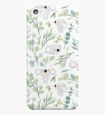Koala and Eucalyptus Pattern iPhone 5c Case