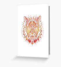Lion Warm Greeting Card