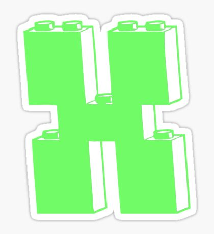THE LETTER X Sticker