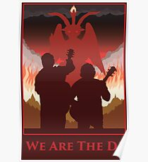 We Are The D! Poster
