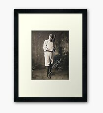 Babe Ruth: Yours Truly T-Shirts Framed Print