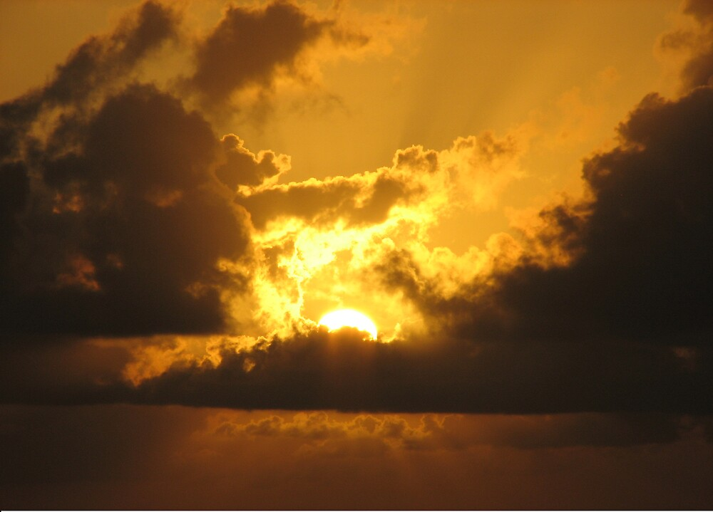 Sunset on the Seas by Jared Thomas