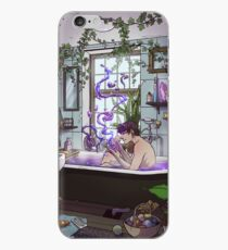 Modern Male Witch Bathroom iPhone Case