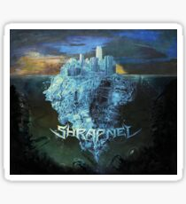 Shrapnel - Raised On Decay  Sticker