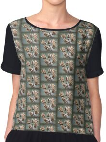 Rose of Sharon - Gone to Seed... Chiffon Top