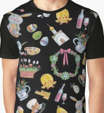 Easter Collage! Graphic T-Shirt