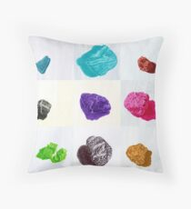 scotty's daily stone first fifteen Throw Pillow