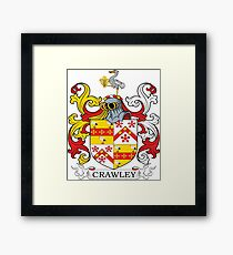 Crawley Coat of Arms Framed Print