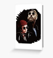 Leon and Mathilda Greeting Card