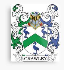 Crawley Coat of Arms Metal Print