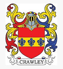 Crawley Coat of Arms Photographic Print