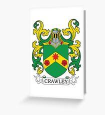Crawley Coat of Arms Greeting Card