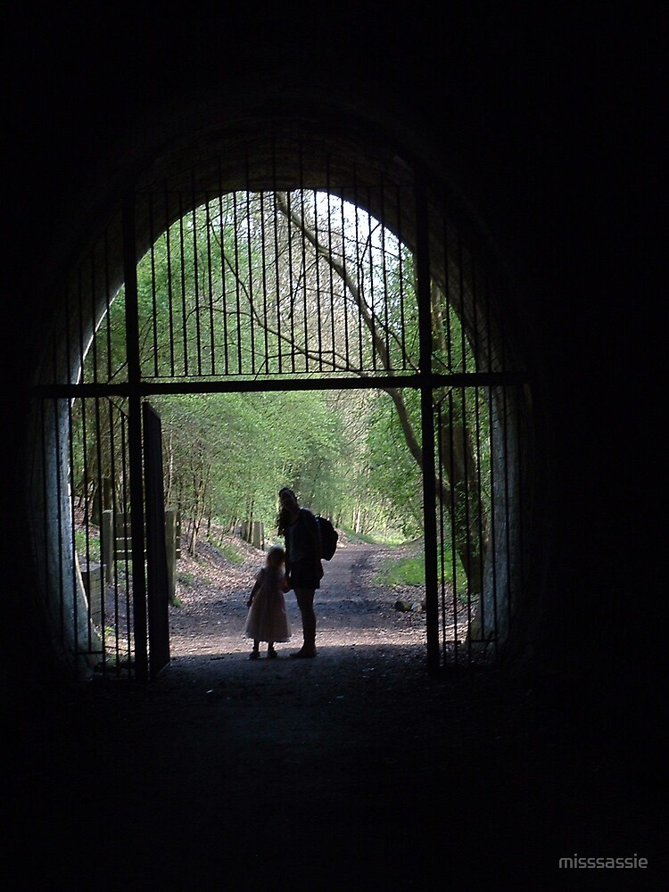 light at the end of the tunnel by misssassie