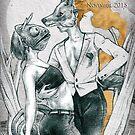 Even in This Skin, Shimmer #28 by Sandro Castelli by bethwodzinski