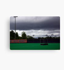 Stormy Game Day Canvas Print