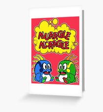 Murrgle Morrgle  Greeting Card