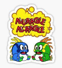 Murrgle Morrgle  Sticker