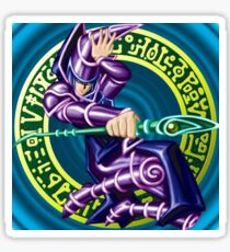 it's literally the Dark Magician card from Yu-Gi-Oh Sticker