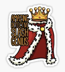 B99 Amazing Detective Slash Genius Sticker