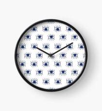 eyes pattern Clock