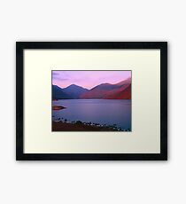 Sunset at Wastwater Framed Print