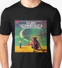 Sirens of Titan by Kurt Vonnegut - Kazak Cover Unisex T-Shirt