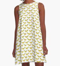 banana pattern A-Line Dress