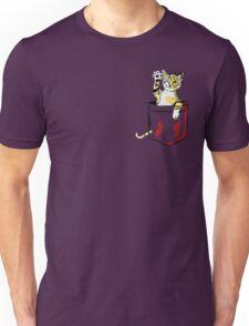 Pocket cat  Unisex T-Shirt