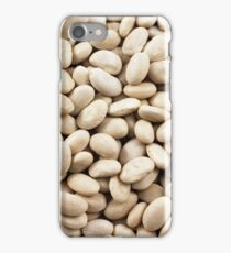 A close up image of dried white beans iPhone Case/Skin