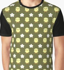 Spring pattern olive darb Graphic T-Shirt