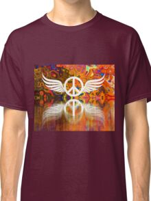 Give Peace Wings Classic T-Shirt