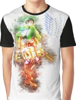Levi - Attack on Titan Graphic T-Shirt