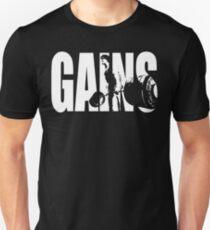 GAINS - Deadlift Iconic Unisex T-Shirt