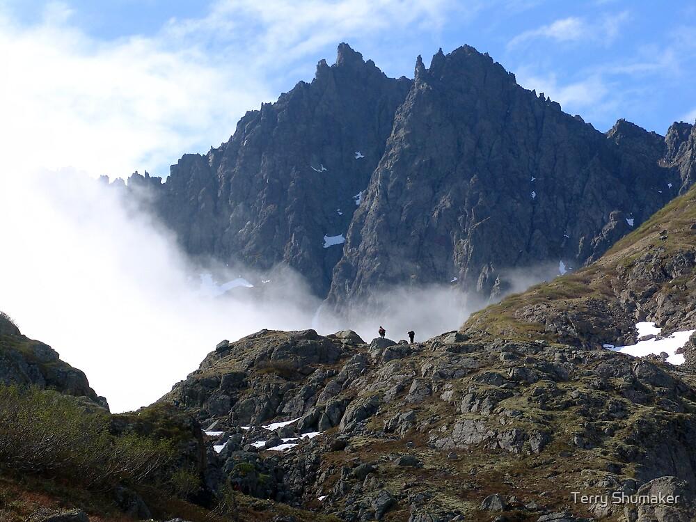Kamchatka Climb by Terry Shumaker