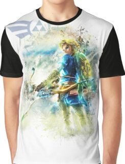Link - Breath Of The Wild Graphic T-Shirt