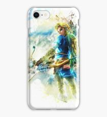 Link - Breath Of The Wild iPhone Case/Skin