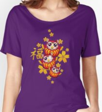 Owl Daruma Women's Relaxed Fit T-Shirt