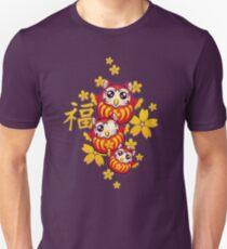 Owl Daruma Unisex T-Shirt