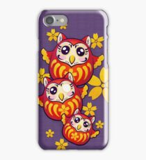 Owl Daruma iPhone Case/Skin
