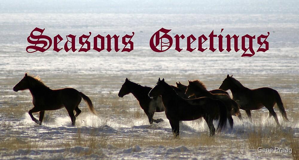 Seasons Greetings by Gene Praag
