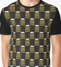 beer mug pattern Graphic T-Shirt