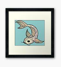 I smell something fishy Framed Print