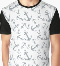 anchor pattern Graphic T-Shirt