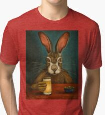 Bunny Hops Tri-blend T-Shirt