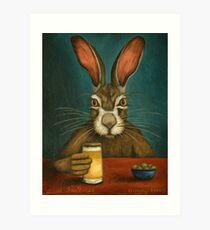 Bunny Hops Art Print