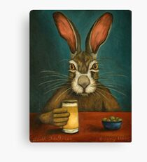 Bunny Hops Canvas Print